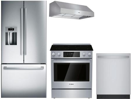 Bosch  902669 Kitchen Appliance Package Stainless Steel, Main Image