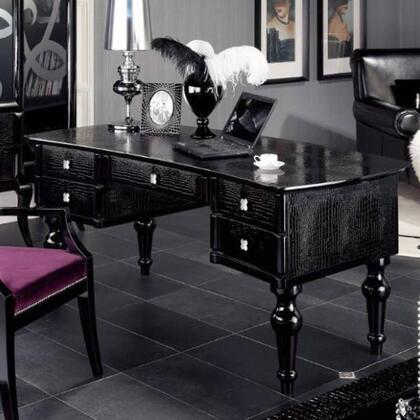 VIG Furniture A & X Manor VGUNAS702180 Office Desk Black, 1