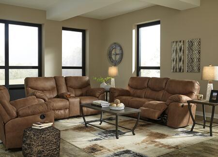 Signature Design by Ashley Boxberg SIG3PCRCLSDKIT1 Living Room Set Brown, Main Image