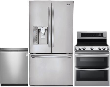 LG 653235 Kitchen Appliance Package & Bundle Stainless Steel, 1