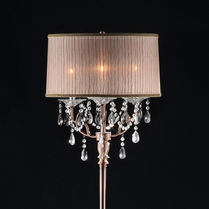 Benzara Cecelia BM122942 Floor Lamp Brown, BM122942