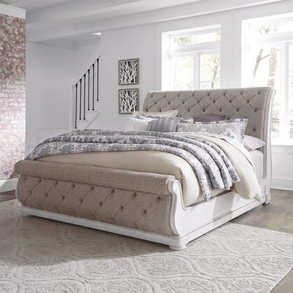 Liberty Furniture Magnolia Manor 244BRQUSL Bed White, 244 br qusl