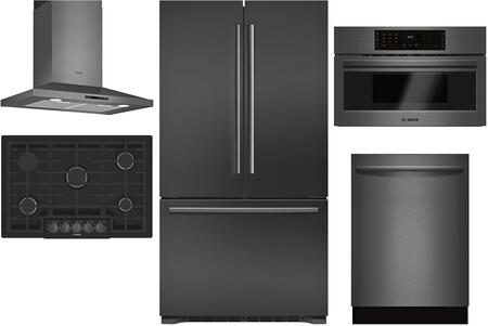 Bosch 980886 Kitchen Appliance Package & Bundle Black Stainless Steel, main image