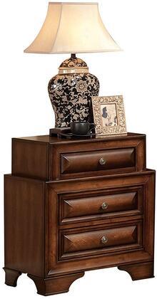 Acme Furniture Konane 20456 Nightstand Brown, Angled View