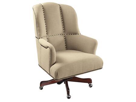 Hooker Furniture Larkin Home Office Larkin Oat Executive Swivel Tilt Chair