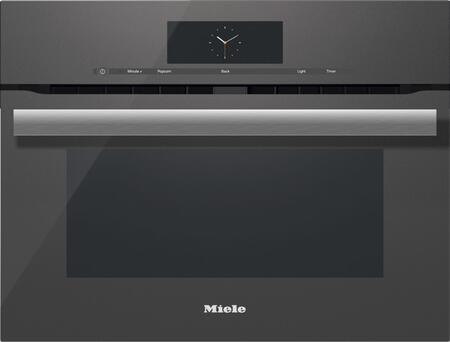 Miele M Touch H6800BMGRGR Single Wall Oven Slate, Main Image