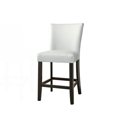 Steve Silver Matinee MT500CCW Dining Room Chair White, ebony white steve silver bar stools mt500ccw fa 1000