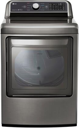 LG  DLE7300VE Electric Dryer Silver, 1