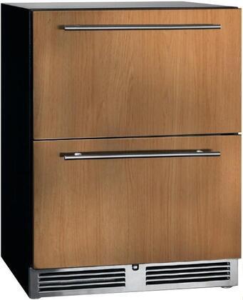 Perlick ADA Compliant HA24RB46 Drawer Refrigerator Panel Ready, Main Image