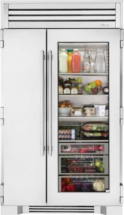 True Residential  TR48SBSSGB Side-By-Side Refrigerator Stainless Steel, Main Image