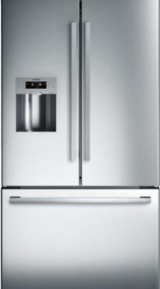 Bosch 800 Series B26FT50SNS French Door Refrigerator Stainless Steel, Main Image