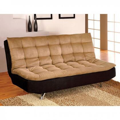 Furniture of America Mancora CM2574M Futon Beige, Main Image