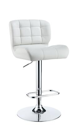 Furniture of America Kori CMBR6152WH Bar Stool White, Main Image