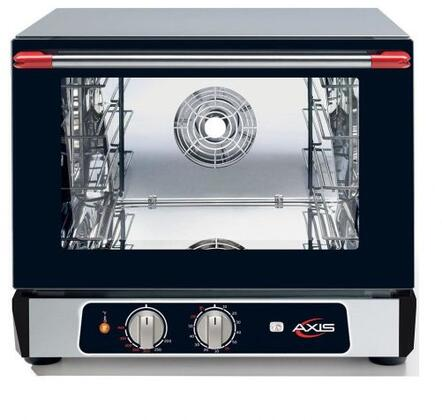 Axis  AX513RH Commercial Convection Oven Black, AX-513RH Half Size Convection Oven with Humidity