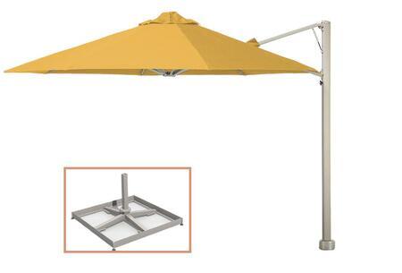 Shadowspec SU6 Series KITP6OCT35UNOPBYLWA Outdoor Umbrella Yellow, KITP6SQ25UNOPBYLWA