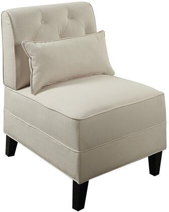 Acme Furniture Susanna 59611 Accent Chair White, 1