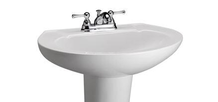 Barclay Hampshire B3201WH Sink , Faucet Not Included