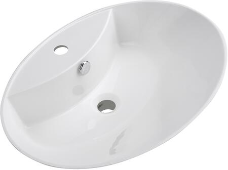 Streamline K1735SLSVF24 Sink White, Main Image