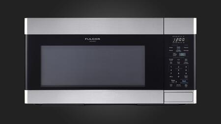 Fulgor Milano F4OTR30S1 Over The Range Microwave Stainless Steel, F4OTR30S1 OTR Microwave