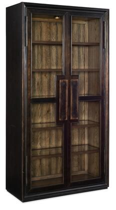 Hooker Furniture American Life-Crafted 165475906MTL Curio Cabinet , Silo Image