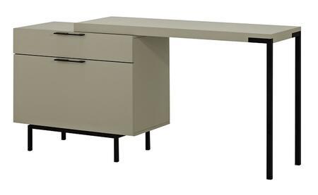 J and M Furniture  180741 Office Desk Beige, Main Image