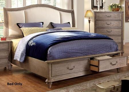 Furniture of America Belgrade I CM7614CKBED Bed, 1