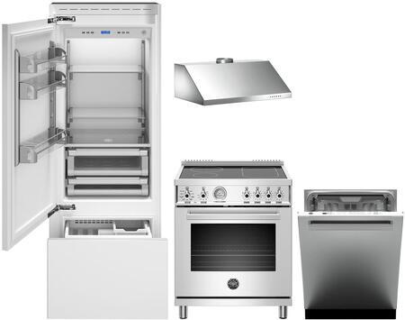 Bertazzoni  1054926 Kitchen Appliance Package Panel Ready, Main image