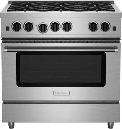 BlueStar RCS Series RCS366BV2 Freestanding Gas Range Stainless Steel, RCS366BV2 Culinary Series Range