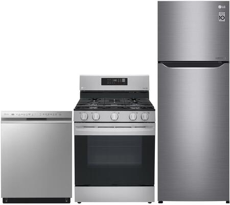 Lg 999686 3 Piece Stainless Vcm Kitchen Liances Package