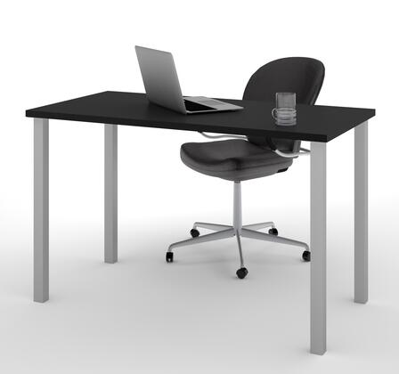 Bestar Furniture BESTAR 6585518 Office Desk Black, Main View