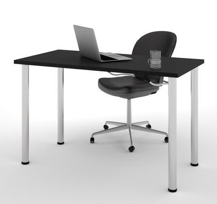 Bestar Furniture BESTAR 6585218 Office Desk Black, Main View