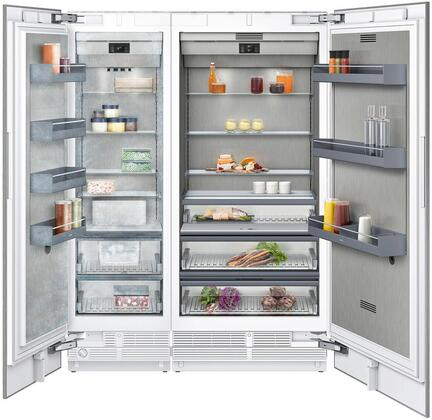 Gaggenau 400 Series 1383802 Column Refrigerator & Freezer Set Panel Ready, Main image