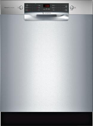 Bosch 800 Series SGE68X55UC Built-In Dishwasher Stainless Steel, Main Image