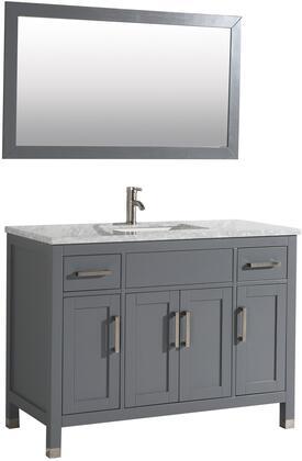 Ricca Collection MTD-6248G 48″ Single Sink Bathroom Vanity Set in