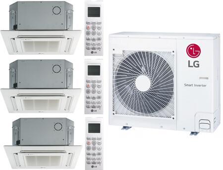 LG 961561 Triple-Zone Mini Split Air Conditioner, Main Image