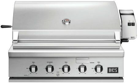 DCS 7 Series BH136RL Liquid Propane Grill Stainless Steel, 1