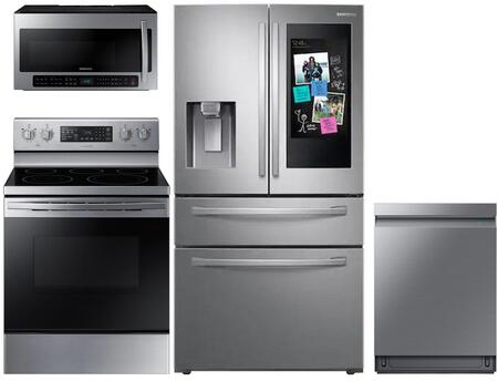Samsung  1133110 Kitchen Appliance Package Stainless Steel, Main Image