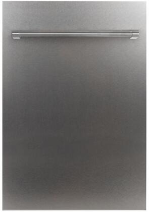 DW-SS-H-18 18″ Fully Integrated Dishwasher with 16 Place Settings  3 Mesh Filters  40 dBA  EcoWash Technology  Energy Star Compliant  in Stainless