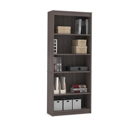 Bestar Furniture 657153147 Bookcase, bestar bookcase 65715 47 bark grey