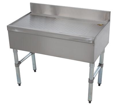 Advance Tabco  CRD18X Commercial Underbar Sink Stainless Steel, CRD Main Image