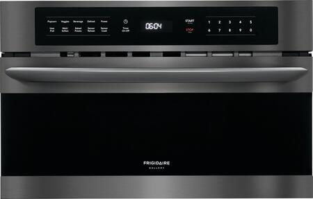 Frigidaire Gallery FGMO3067UD Built-In Microwave Black Stainless Steel, Main Image