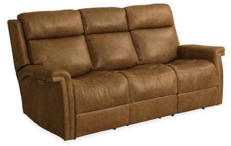 Hooker Furniture MS Series SS468P3088 Motion Sofa Brown, Silo Image
