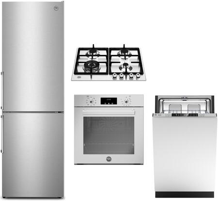 Bertazzoni Professional 1411603 Kitchen Appliance Package Stainless Steel, main image