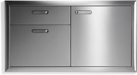 Lynx LSA424 Access Door Stainless Steel, LSA42-4 Ventana Door Drawer Combination