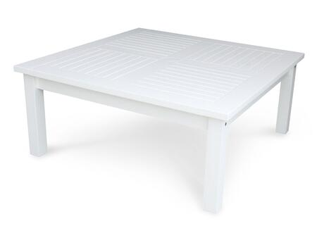 Douglas Nance Classic White DN5242W Coffee and Cocktail Table White, DN5242W Main Image