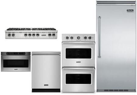 Viking 5 Series 874214 Kitchen Appliance Package & Bundle Stainless Steel, main image