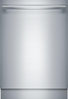 Bosch Benchmark Benchmark SHX89PW75N Built-In Dishwasher Stainless Steel, Front View