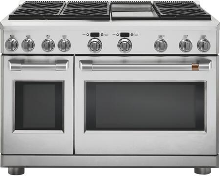 Cafe Matte Collection C2Y486P2MS1 Freestanding Dual Fuel Range Stainless Steel, C2Y486P2MS1 Dual Fuel Range