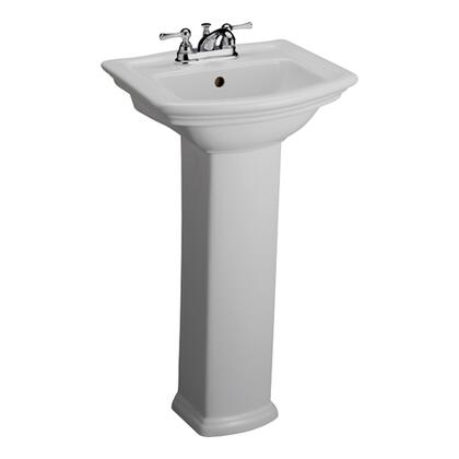 Barclay Washington 3381WH Sink , Faucet Not Included