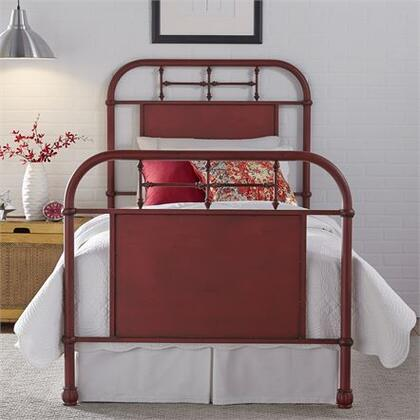 Liberty Furniture Vintage Series 179BR11HFRR Bed Red, Main view